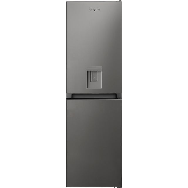 Hotpoint HBNF55181SAQUAUK 50/50 Frost Free Fridge Freezer - Silver - A+ Rated - HBNF55181SAQUAUK_SI - 1