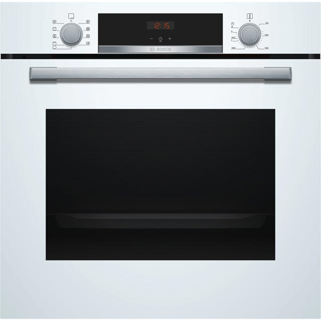 Bosch Serie 4 Electric Single Oven - White - A Rated