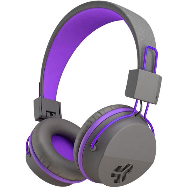 JLAB HBSTUDIORGRYPRPL4 Headphones in Grey / Purple
