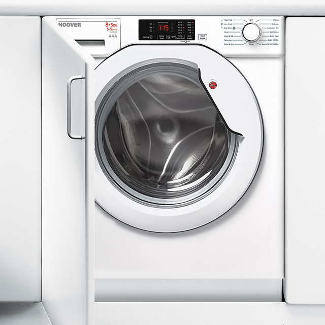 Hoover HBWD8514D Integrated 8Kg / 5Kg Washer Dryer with 1400 rpm - A Rated