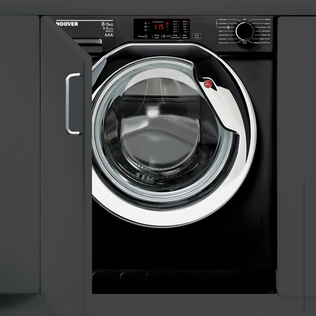 Hoover H-WASH 300 HBWD8516DCB/1 Integrated 8Kg / 5Kg Washer Dryer with 1600 rpm - HBWD8516DCB/1_BK - 1
