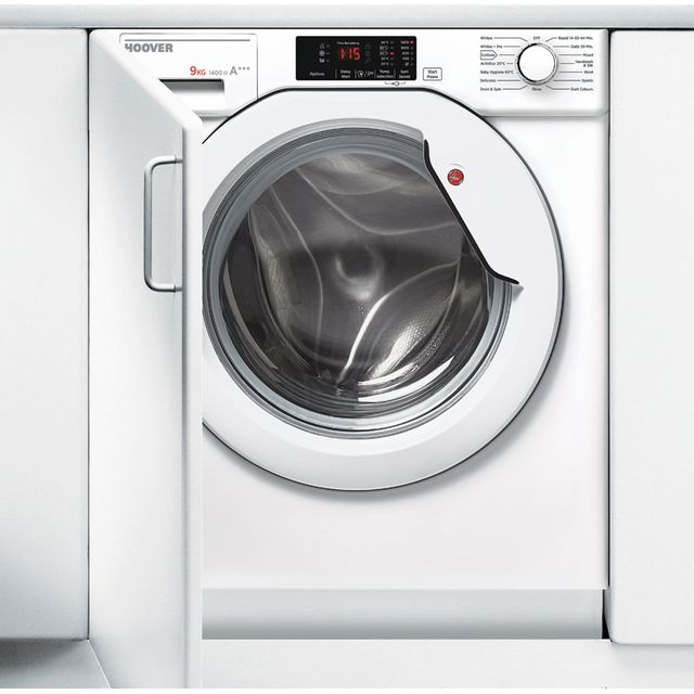 Hoover HBWM914D Integrated 9Kg Washing Machine with 1400 rpm