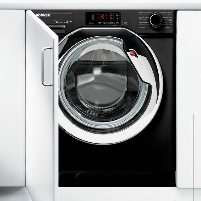 Hoover H-WASH 300 HBWM914DCB/1 Integrated 9Kg Washing Machine with 1400 rpm - A+++ Rated