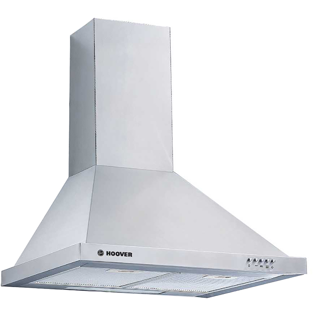 Hoover HCE160X 60 cm Chimney Cooker Hood - Stainless Steel - C Rated - HCE160X_SS - 1