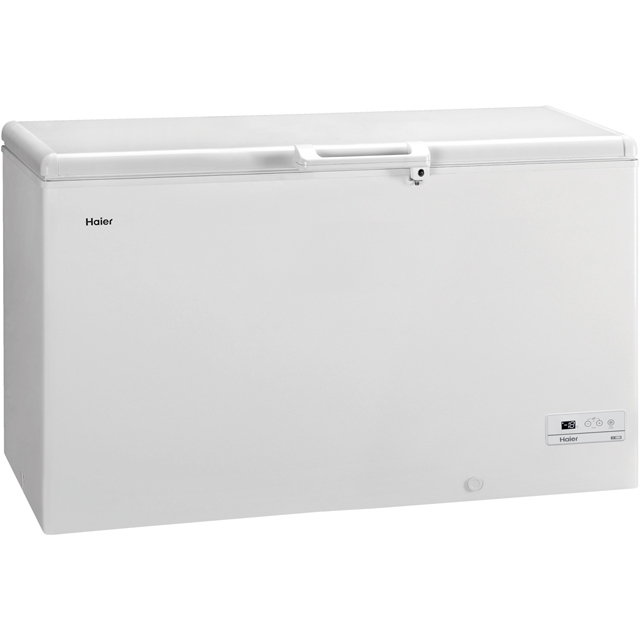 Haier HCE429R Chest Freezer - White - A+ Rated - HCE429R_WH - 1