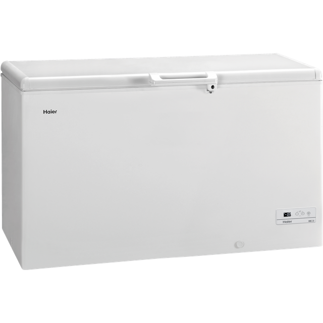 Haier HCE429R Chest Freezer - White - HCE429R_WH - 1