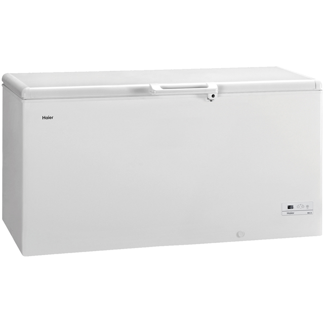 Haier HCE519R Chest Freezer - White - A+ Rated - HCE519R_WH - 1