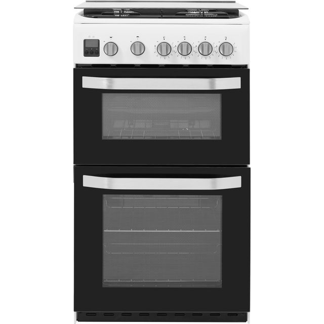 Hotpoint HD5G00CCW/UK Gas Cooker - White - HD5G00CCW/UK_WH - 1