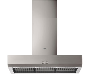 AEG HD8510-M 100 cm Chimney Cooker Hood - Stainless Steel