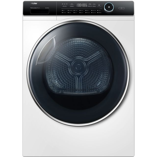 Haier i-Pro series 7 HD90-A2979 Heat Pump Tumble Dryer - White - HD90-A2979_WH - 1