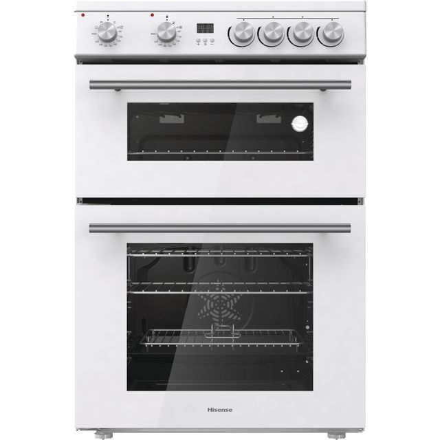 Hisense HDE3211BWUK Electric Cooker - White - HDE3211BWUK_WH - 1