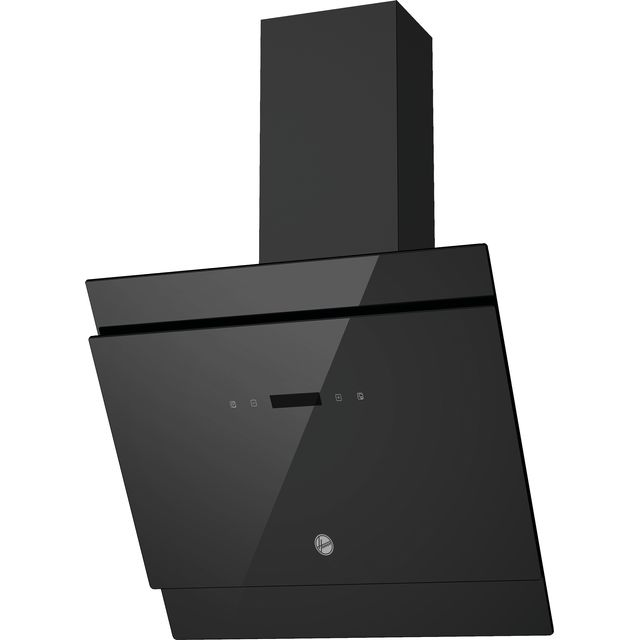 Hoover H-HOOD 500 HDG6DCK3B Built In Chimney Cooker Hood - Black - HDG6DCK3B_BK - 1