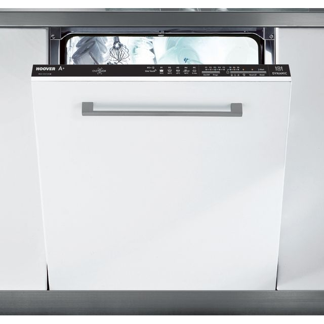 Hoover HDI1LO38B Fully Integrated Standard Dishwasher - Black Control Panel with Fixed Door Fixing Kit - A+ Rated - HDI1LO38B_BK - 1