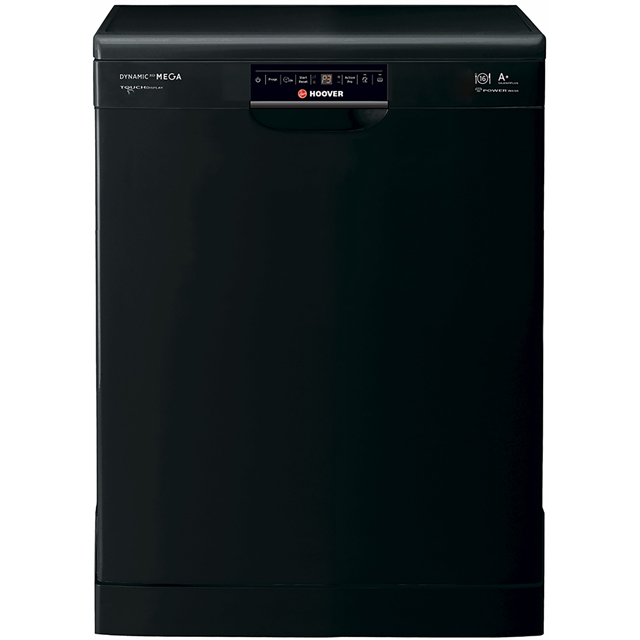 Hoover Dynamic Next Mega HDP1T64PW3B Standard Dishwasher - Black - A Rated - HDP1T64PW3B_BK - 1