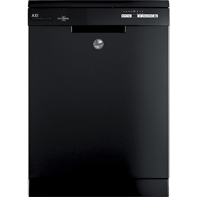 Hoover AXI HDPN1L642OB Standard Dishwasher - Black - A+ Rated - HDPN1L642OB_BK - 1