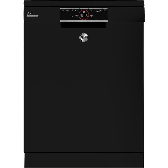Hoover AXI HDPN1S643PB Wifi Connected Standard Dishwasher - Black - A+ Rated - HDPN1S643PB_BK - 1