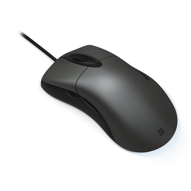 Microsoft Intellimouse Mouse - Grey - HDQ-00002 - 1