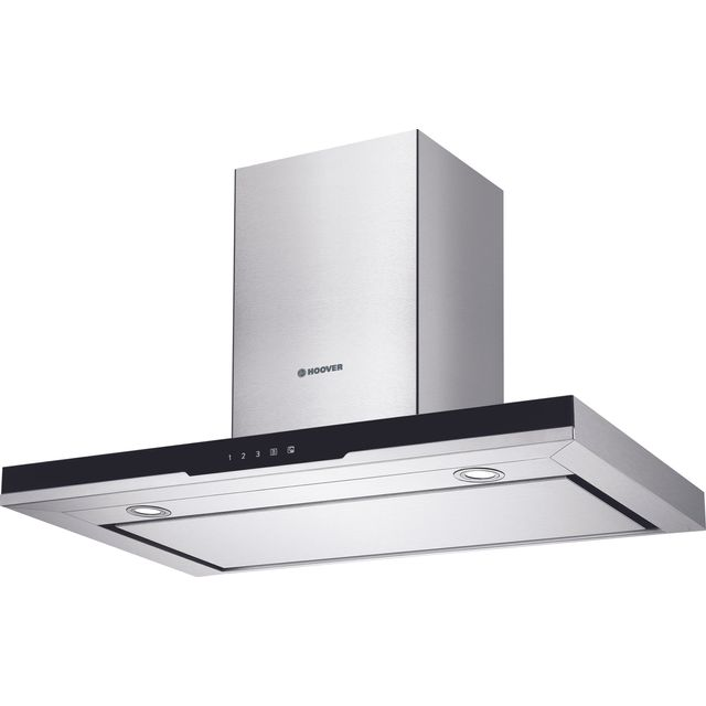 Hoover H-HOOD 500 HDSV985B Built In Chimney Cooker Hood - Stainless Steel - HDSV985B_SS - 1