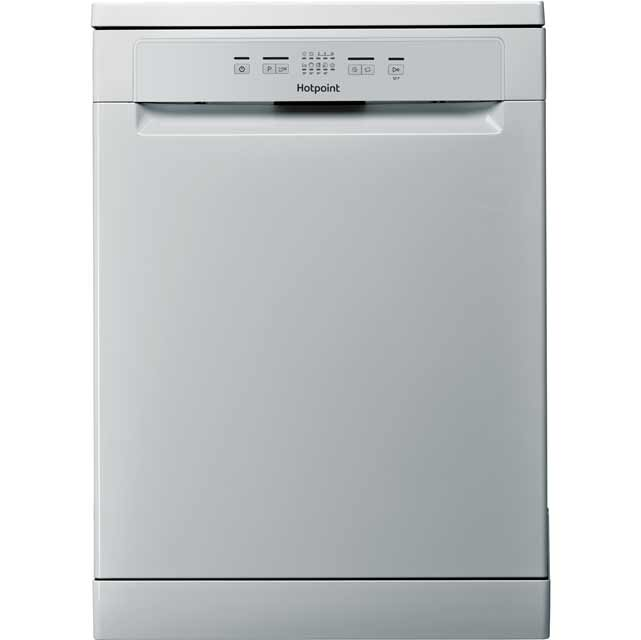 Hotpoint HFC2B19SV Standard Dishwasher - Silver - A+ Rated Best Price, Cheapest Prices