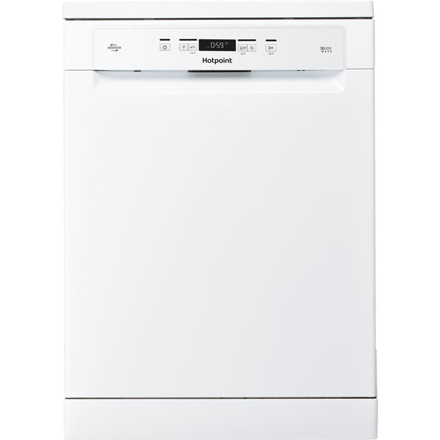 Hotpoint HFC3C26WUK Standard Dishwasher - White - A++ Rated