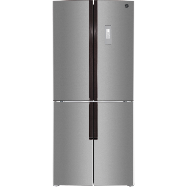 Hoover HFDN180XK American Fridge Freezer - Stainless Steel - A+ Rated