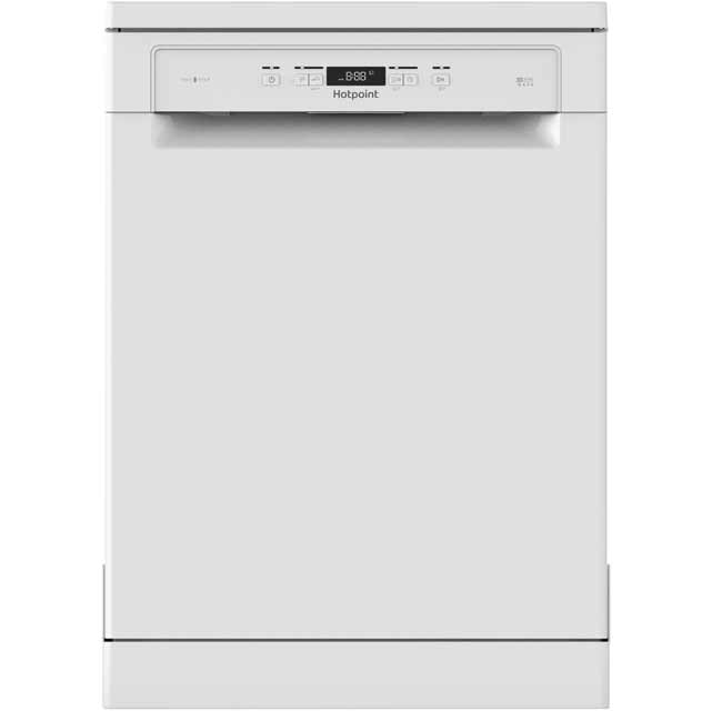 Hotpoint HFO3C22WF Standard Dishwasher - White - A++ Rated