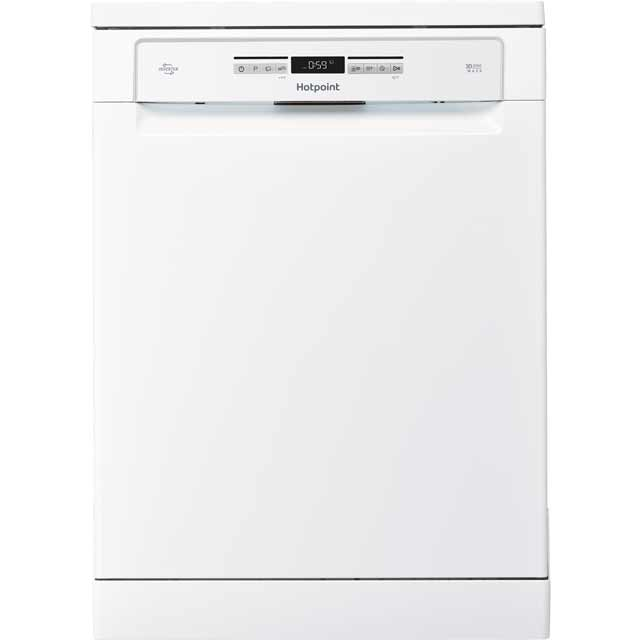 Hotpoint HFO3P23WL Standard Dishwasher - White Best Price, Cheapest Prices