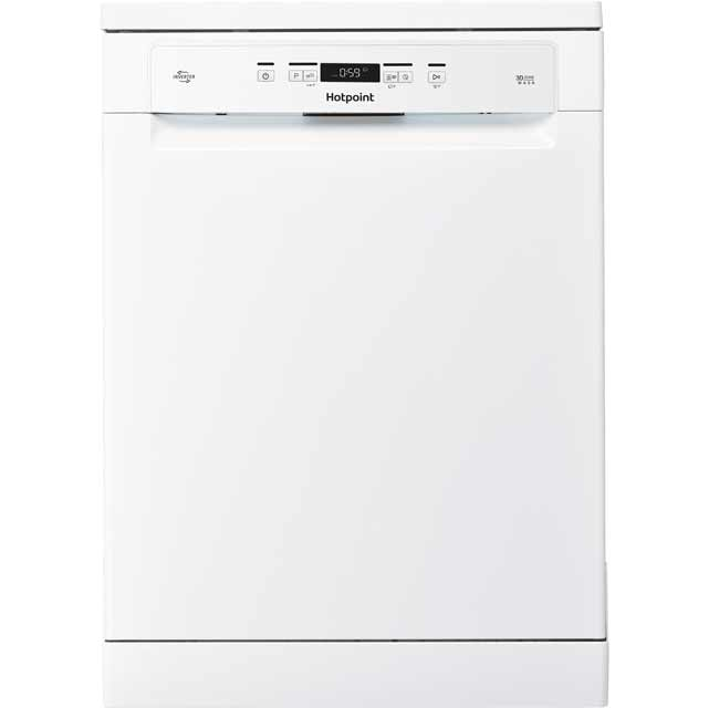 Hotpoint HFO3T222WG Standard Dishwasher - White Best Price, Cheapest Prices