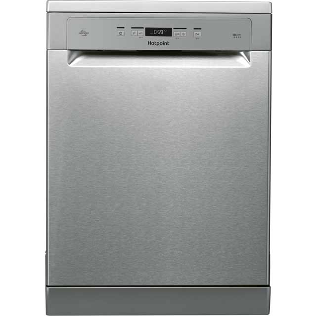 Hotpoint HFO3T222WGX Standard Dishwasher - Stainless Steel Best Price, Cheapest Prices