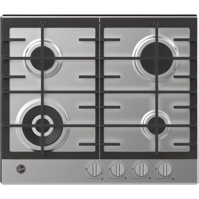 Hoover HHG6BF4K3X Built In Gas Hob - Stainless Steel
