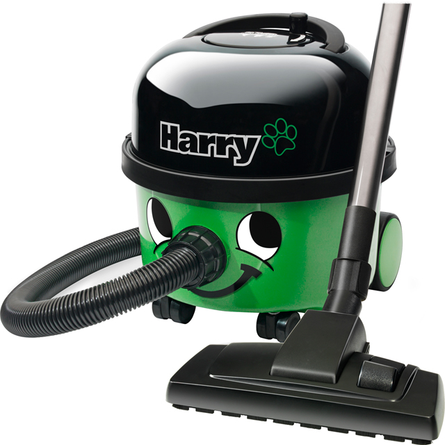 Numatic Harry HHR200-11 Cylinder Vacuum Cleaner - Green / Black - HHR200-11_GR - 1