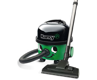 Numatic Harry HHR200A2 Cylinder Vacuum Cleaner in Green / Black