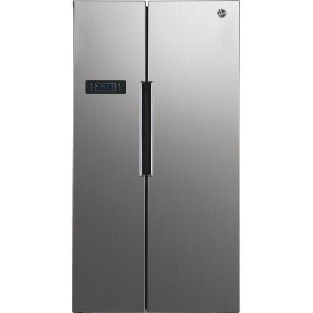 Hoover HHSBSO6174XK American Fridge Freezer - Stainless Steel Effect - A++ Rated