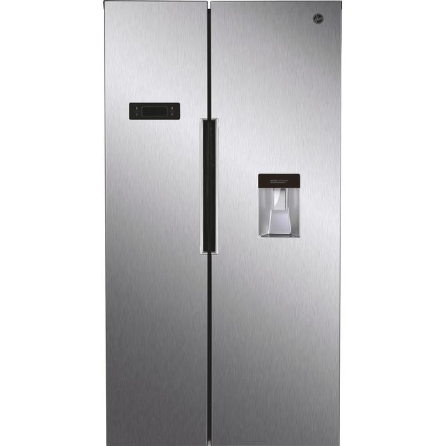 Hoover HHSBSO6174XWDK American Fridge Freezer - Stainless Steel Effect - A++ Rated