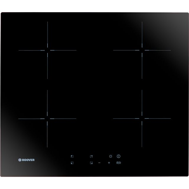 Hoover H-HOB 300 INDUCTION HIC642 Built In Induction Hob - Black Glass - HIC642_BKG - 1