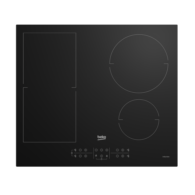 Beko HII64201MT Built In Induction Hob - Black - HII64201MT_BK - 1