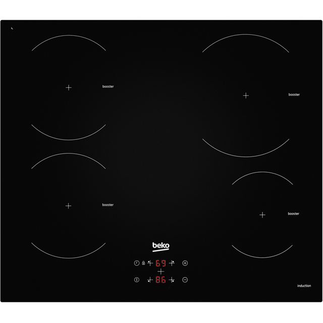 Beko HII64400AT Built In Induction Hob - Black - HII64400AT_BK - 1