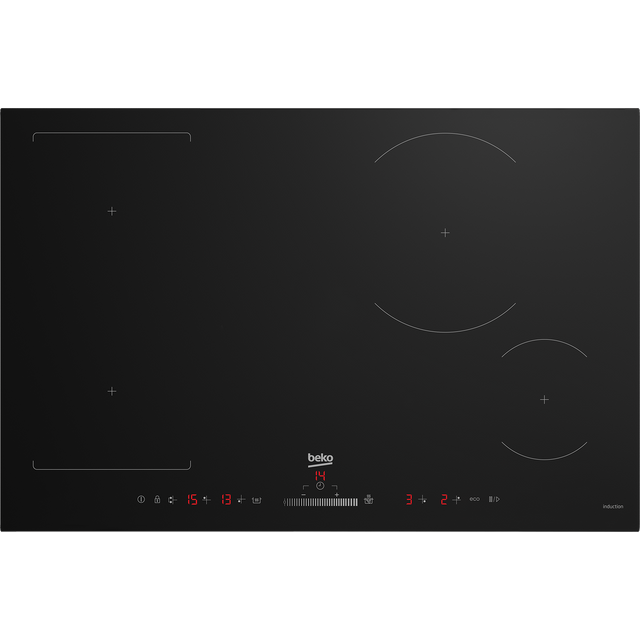 Beko HII84500FHT Built In Induction Hob - Black - HII84500FHT_BK - 1