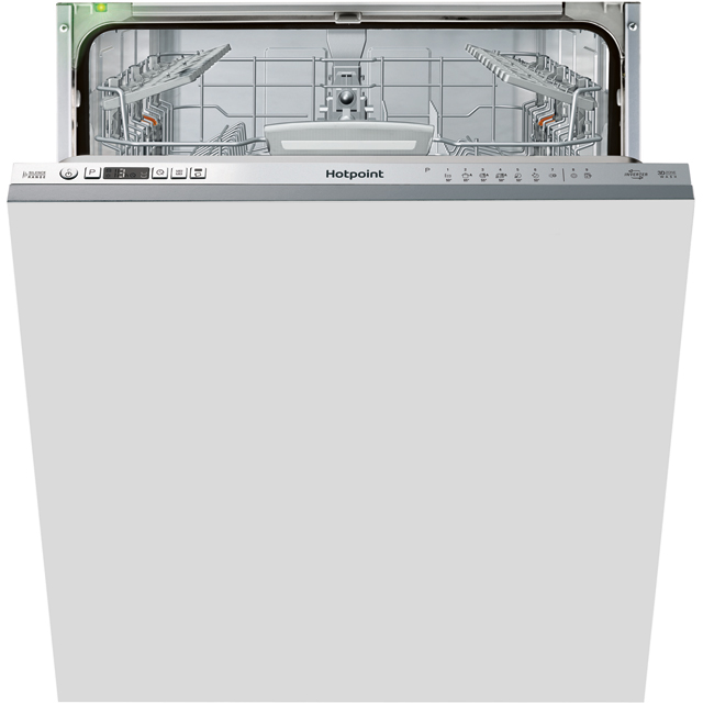 Hotpoint Ultima HIO3T1239EUK Fully Integrated Standard Dishwasher - Stainless Steel Control Panel with Fixed Door Fixing Kit - A++ Rated - HIO3T1239EUK_SS - 1