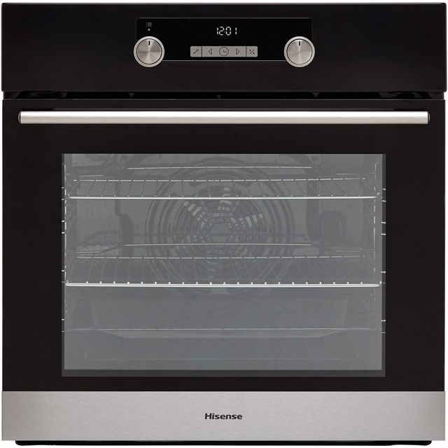 Hisense BI3221ABUK Built In Electric Single Oven - Black - A Rated - BI3221ABUK_BK - 1