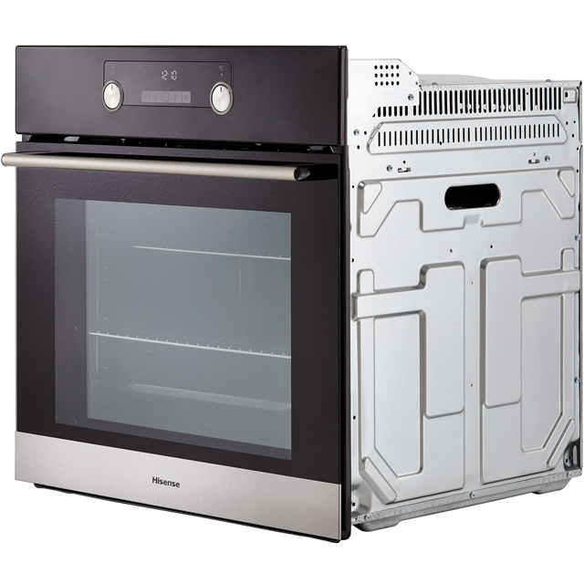 Hisense BI3221AXUK Built In Electric Single Oven - Stainless Steel - BI3221AXUK_SS - 3