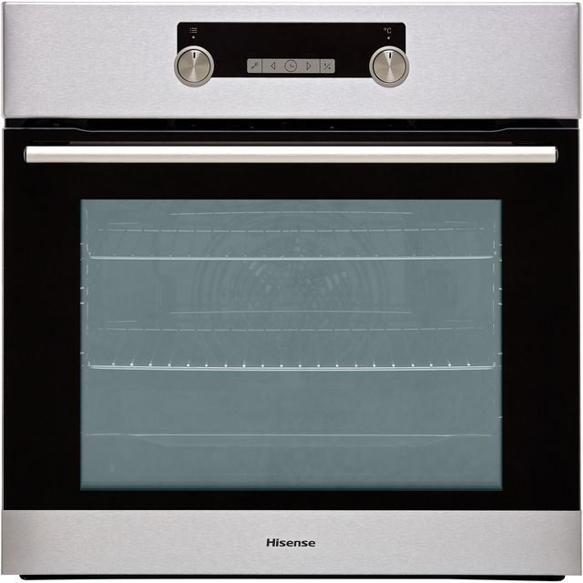 Hisense BI5228PXUK Built In Electric Single Oven - Stainless Steel - BI5228PXUK_SS - 1