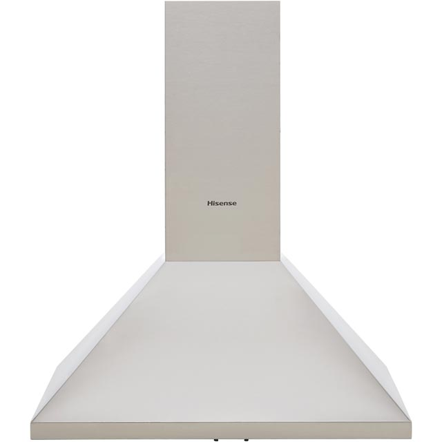 Hisense CH6C4AXUK 60 cm Chimney Cooker Hood - Stainless Steel - C Rated - CH6C4AXUK_SS - 1