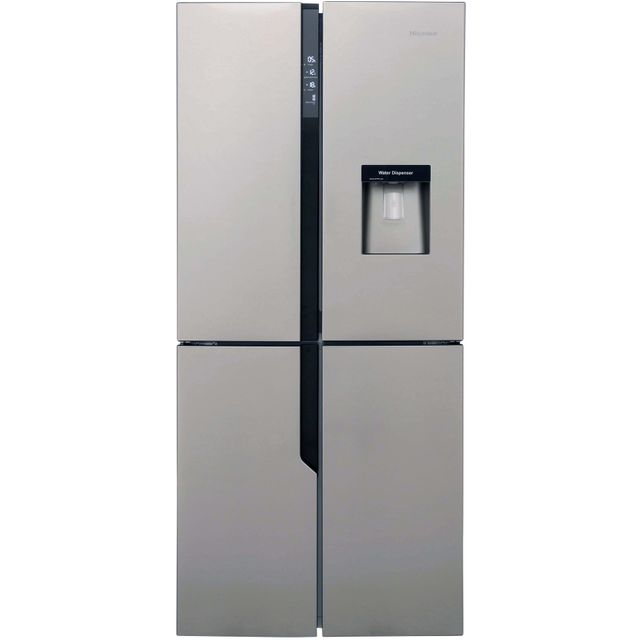 Hisense FMN431W20C American Fridge Freezer - Stainless Steel Effect - A+ Rated