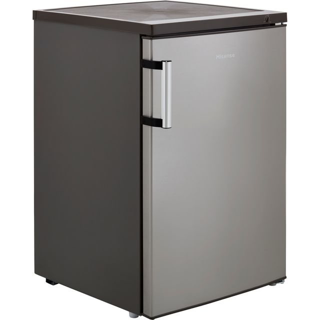 Hisense FV105D4BC21 Under Counter Freezer - Stainless Steel Effect - E Rated