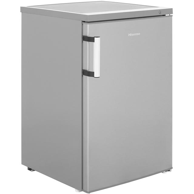 Hisense Free Standing Freezer in Stainless Steel Effect