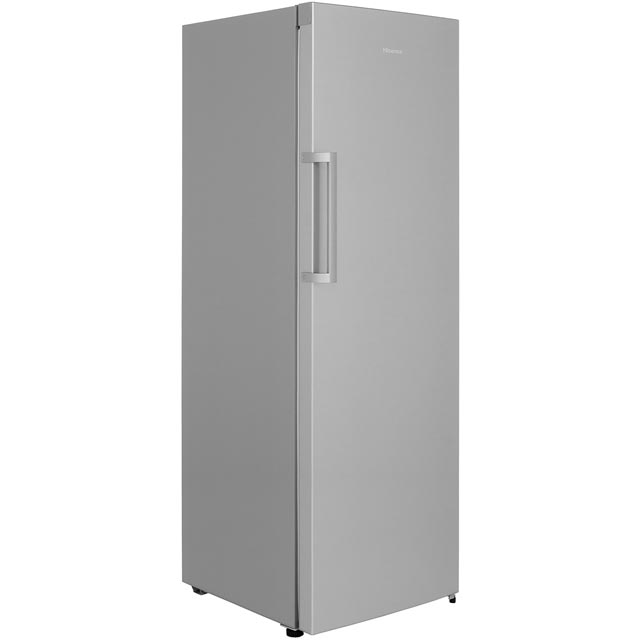 Hisense Frost Free Upright Freezer - Stainless Steel Effect - A+ Rated