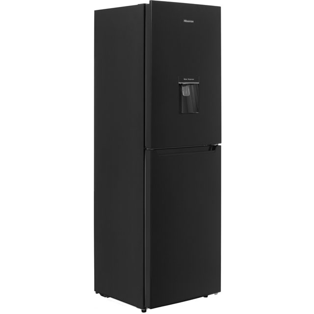 Hisense RB320D4WB1 50/50 Fridge Freezer - Black - A+ Rated - RB320D4WB1_BK - 1