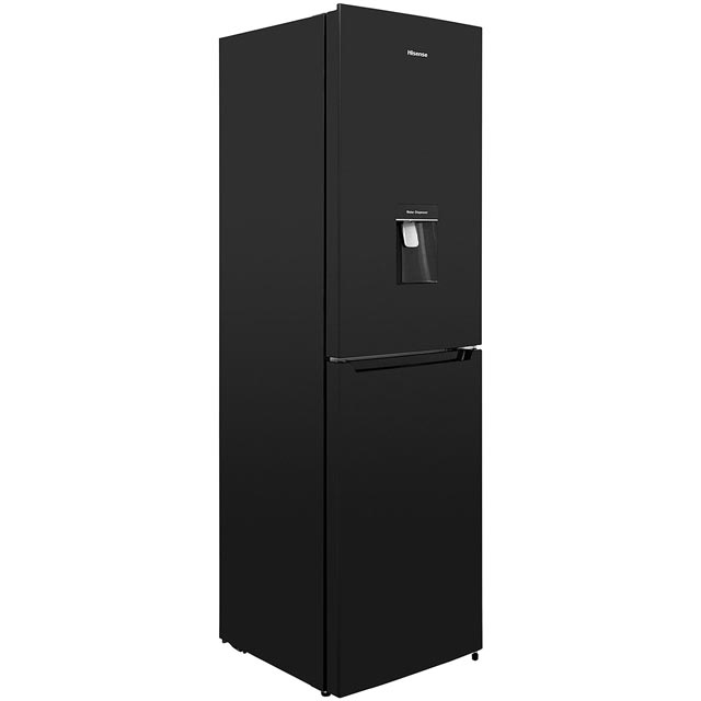 Hisense RB335N4WB1 50/50 Frost Free Fridge Freezer - Black - A+ Rated - RB335N4WB1_BK - 1