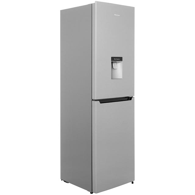 Hisense RB335N4WG1 50/50 Frost Free Fridge Freezer - Silver - A+ Rated - RB335N4WG1_SI - 1